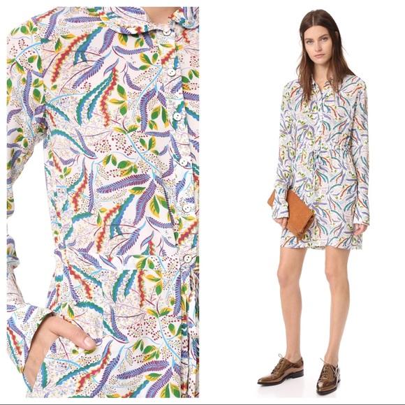 SALONI Dresses & Skirts - Saloni Size 2 Leigh B Silk Dress NWOT Drawstring
